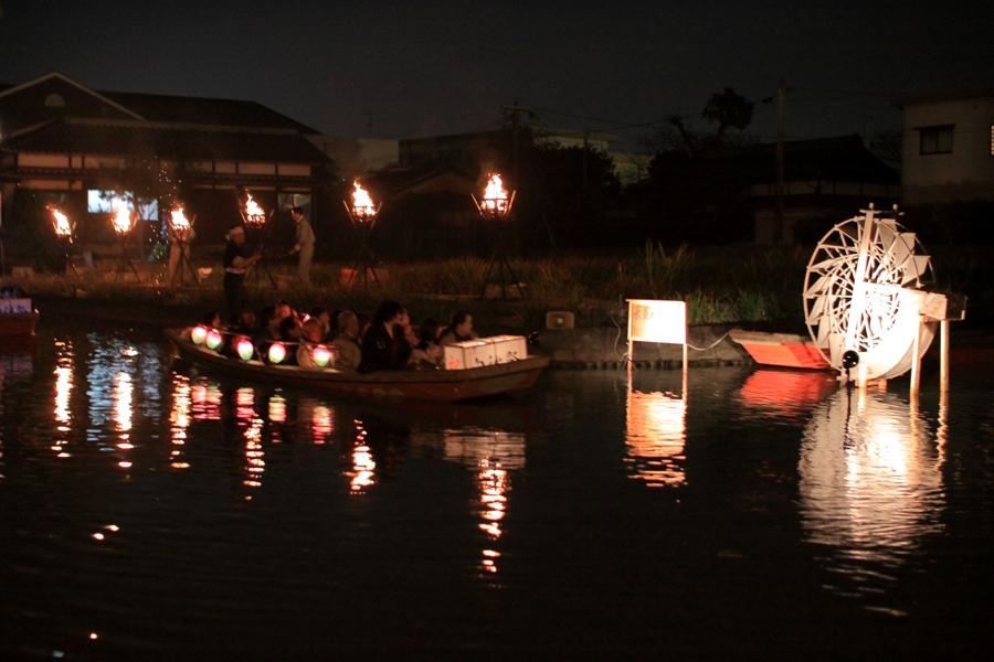 白秋祭 篝火