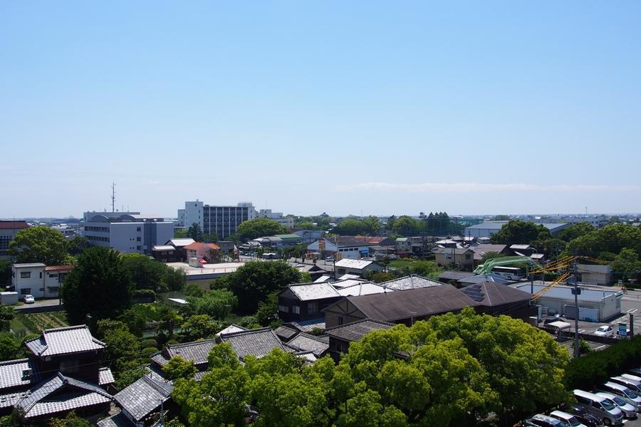 市街地 俯瞰 柳川市役所