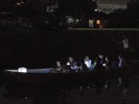 灯り舟 日吉神社裏