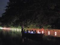 灯り舟 高門橋