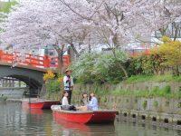 女子旅!!春の川下り